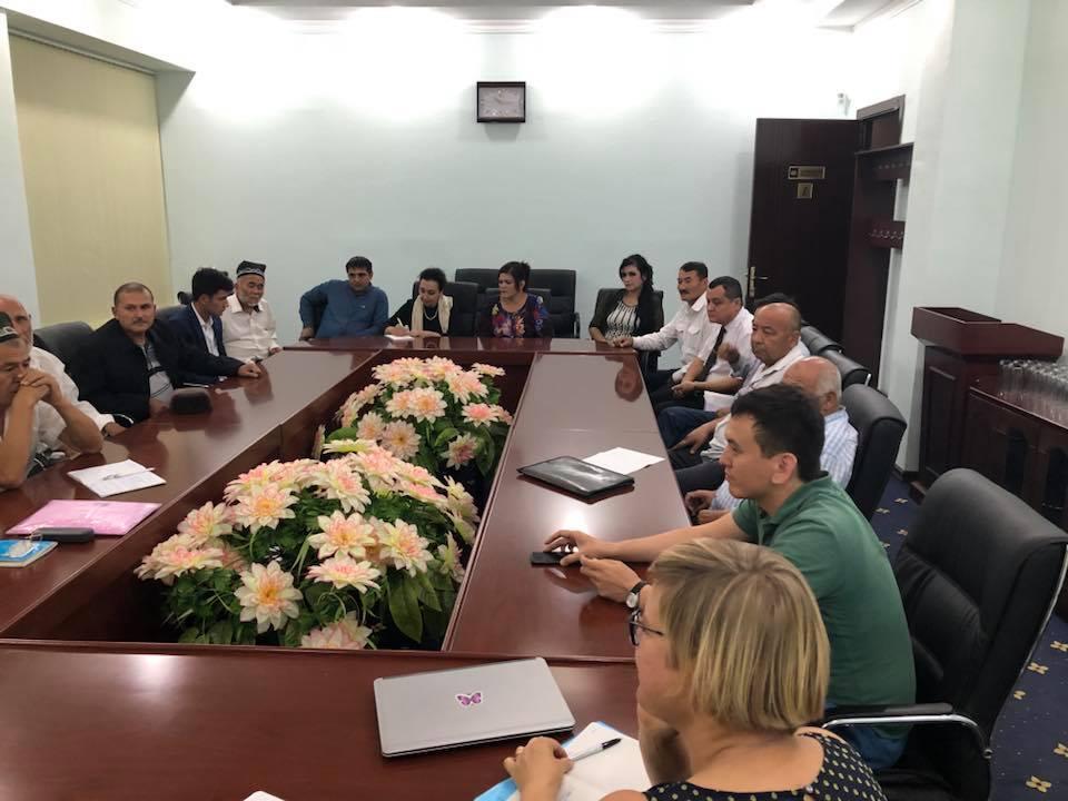 ACA in Uzbekistan on September 2018
